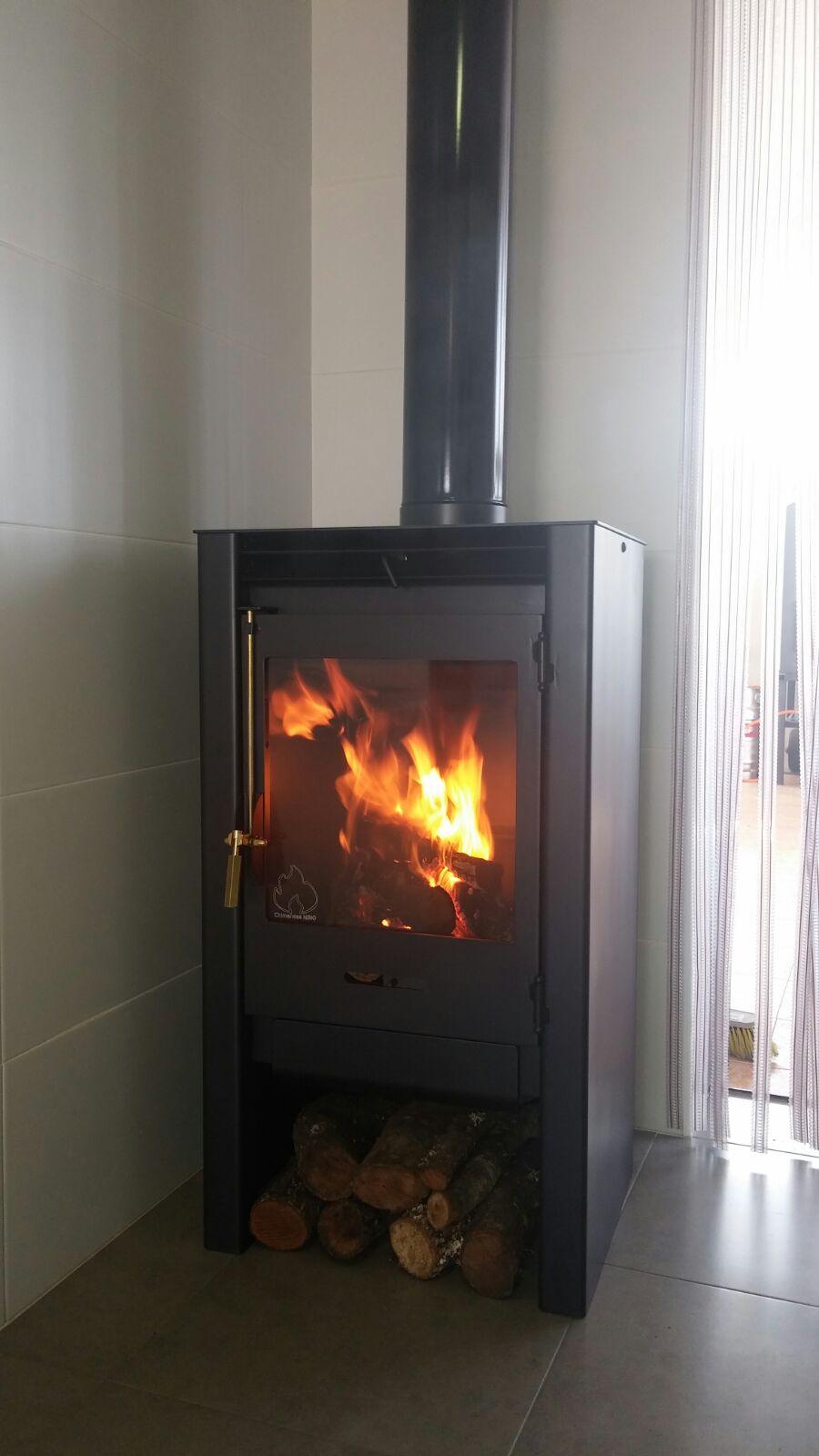 Estufas chimeneas hornos en molina de segura murcia for Estufa hogar moderna